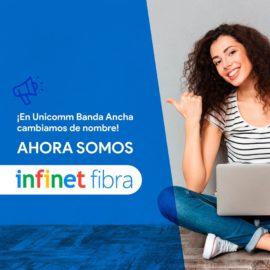 Desde hoy Unicomm Banda Ancha pasa a ser InfinetFibra en Mercedes (Corrientes)